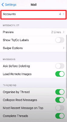 account 1and1 Email Settings For iPhone